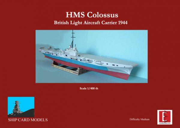 1/400 HMS Colossus Paper Model