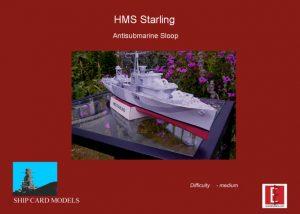 1/200 HMS Starling