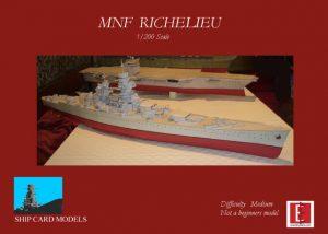1/200 MNF Richilieu Paper Model