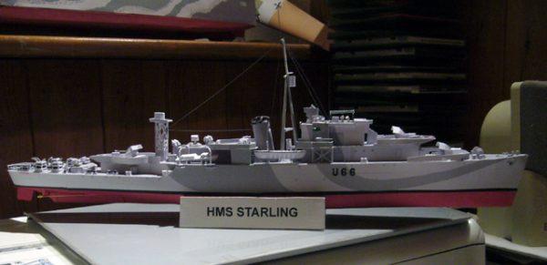 1/200 HMS Starling Paper Model