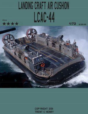 Hovercraft LCAC Paper Model